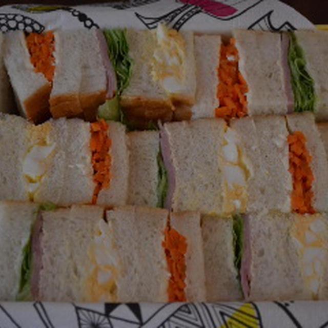 サンドイッチ用の角食パン♪
