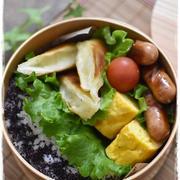 中学生男子弁当|チーズin春巻き|卵焼き|ソーセージ|息子の食の好み調査開始