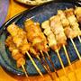 破格焼き鳥で晩御飯♪ヾ¨)+゚.*