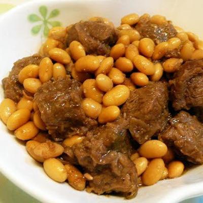黃豆牛肉│牛肉とダイズのシチュー