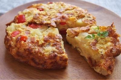 【レシピ】オーブンで簡単!スパニッシュオムレツ