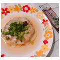 チーズとろ~り♡鶏ひき肉のしそ梅ハンバーグ♪
