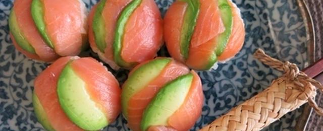 ラップで丸めてカンタン!可愛く♪春の手まり寿司レシピ