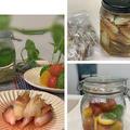 夏の嬉しい定番、長期保存可のミョウガ甘酢漬けやミニトマトで作り置き~昨日のパン焼き!!蓮の花 by pentaさん