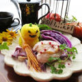 魔女が作ったマジカル・フリカッセと食べられる魔女のホウキ☆ハロウィンワンプレート by ルシッカさん