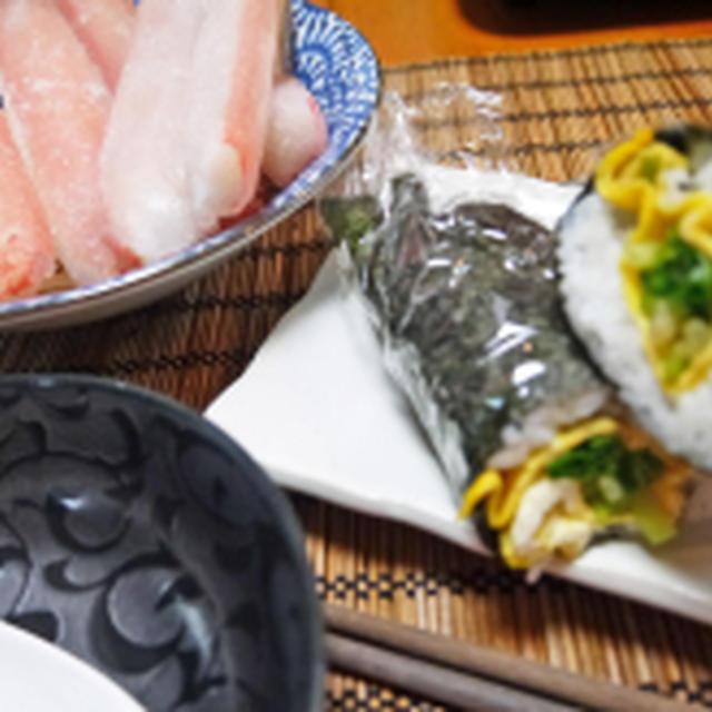 ラップサンド&かにしゃぶと柿酢