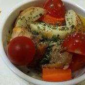 グリルチキンと野菜のハーブサラダ