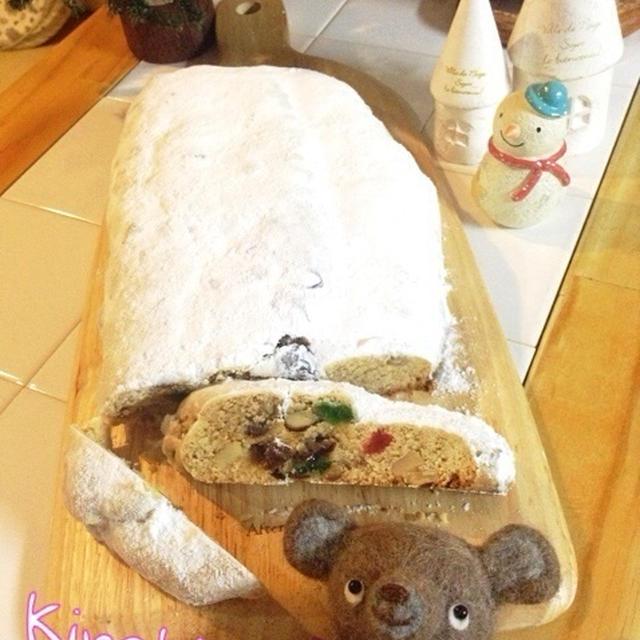 【クリスマス】シュトーレン風バターケーキ