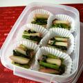 冷凍ストック☆小松菜と蒲鉾のサッと煮♪ by bvividさん