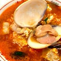宮崎辛麺のアレンジ「スンドゥブ風」