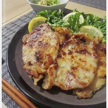 簡単*豚の味噌ハチミツ漬け焼きがウマし*ブタミンは疲労やむくみ&ダイエットに効果的
