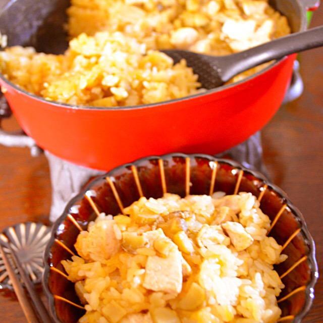 鶏とごぼうが薫る 秋の炊き込みご飯 - 豊菜JIKAN -