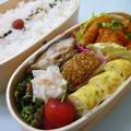 6月18日 鶏のチリソース弁当 by カオリさん