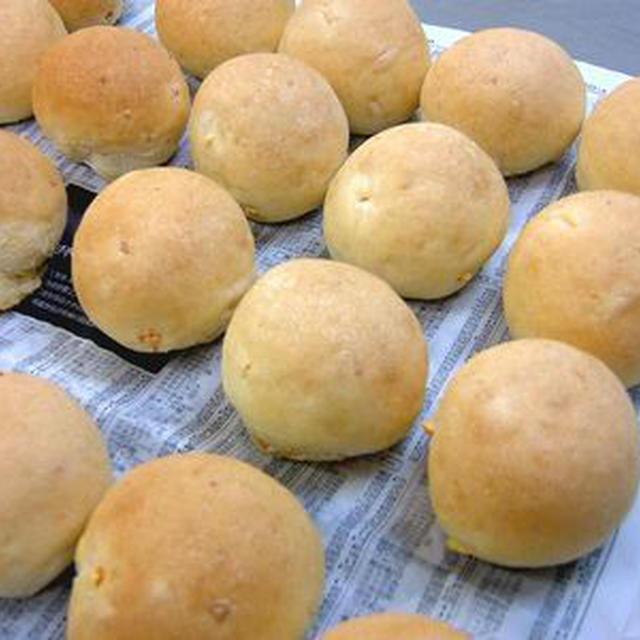 ネーブルピール入りパン