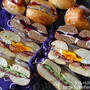 【コストコクッキング】ベーグルサンドとディナーロールのサンドイッチ弁当
