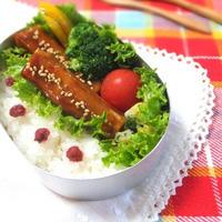 しっとりジューシー♪高野豆腐のてりやき弁当