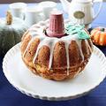 ハロウィンに♪メープル パンプキンケーキ