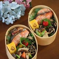 スーマンボースー ✿ 鮭弁&沖縄おでん(๑¯﹃¯๑)♪