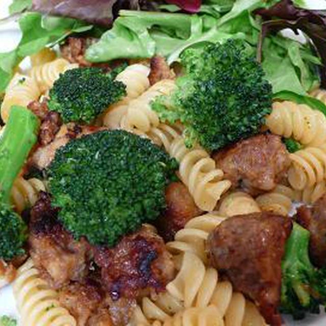 イタリアンソーセージとブロッコリーのパスタ Italian Sausage and Broccoli Pasta