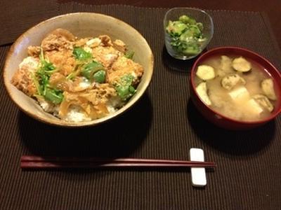 ささみカツ丼でガッツリ男飯!