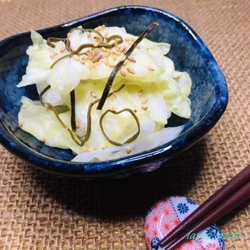 群馬県産嬬恋高原キャベツでやみつき塩キャベツ ~ぐんまクッキングアンバサダー~