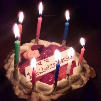 誕生日のサプライズ