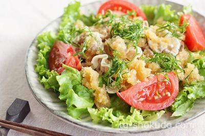 豚しゃぶサラダ【中性脂肪を下げるレシピ】