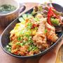 寒い日にオススメ☆キムチと手羽先のピリ辛炊き込みご飯