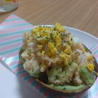 アボカドとたまごのタラモサラダ