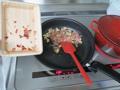 我が家の明太パスタレシピ、2013♪