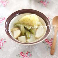 春野菜の超シンプルスープ