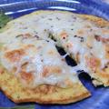 低糖質で食物繊維たっぷり☆ カリフラワーのチーズパンケーキ