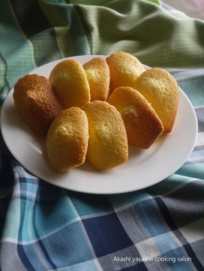 オレンジ風味のマドレーヌ