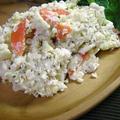 鱈とおからのポテトサラダ