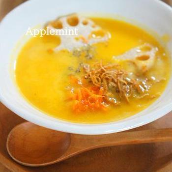 【モニター】心も体も温まる♪根菜とかぼちゃの食べるポタージュスープ