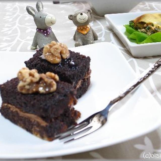 簡単なのに濃厚!チョコレートケーキ。。。と、ロンドン五輪始まります!