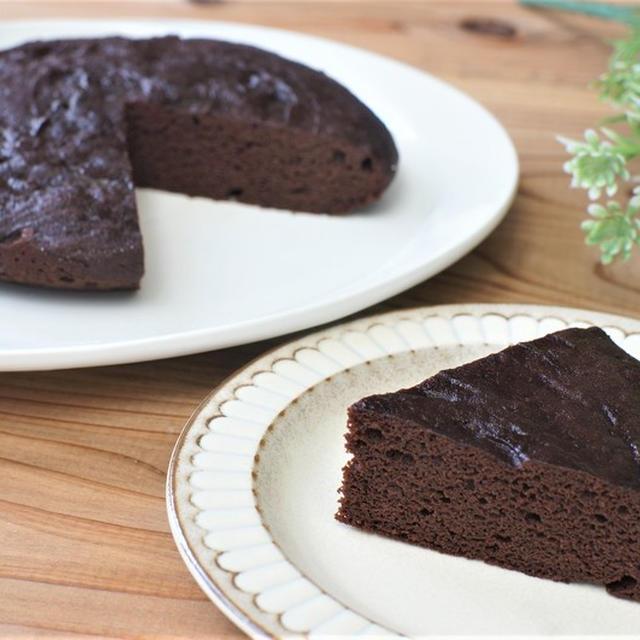 炊飯器で簡単♪低糖質チョコケーキ