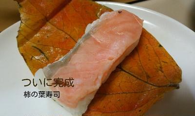 秋色柿の葉寿司とHOTSUNチキンのリダ5