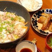 白菜1/4個でも大満足♪609円*ミルフィーユ風重ね蒸し定食