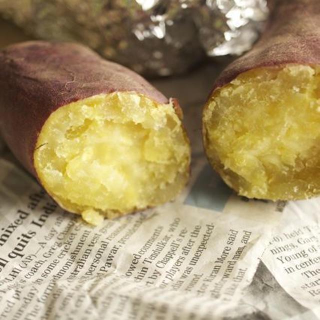 いいこといっぱい オーブンで作る 焼き芋 *10月13日さつまいもの日