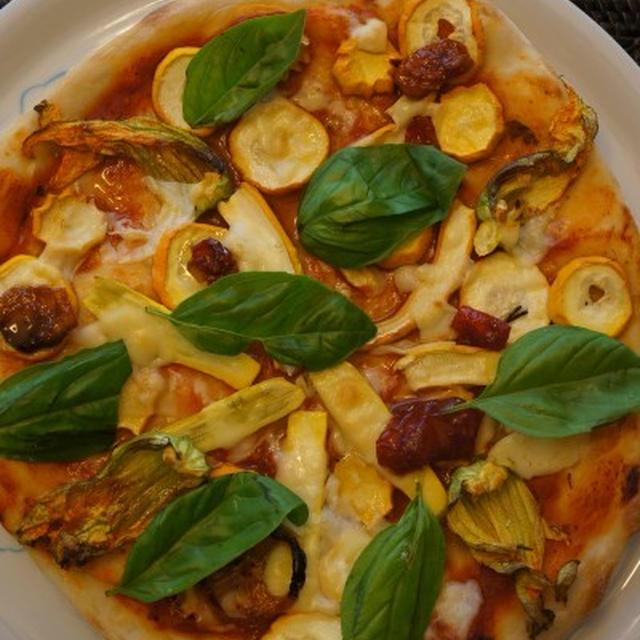 干しズッキーニピザ