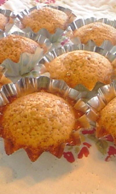 メープルいちごのカップケーキ♪