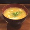 豚キムチ味噌汁