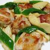 鶏肉と筍の花椒塩炒め