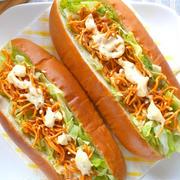 準グランプリ受賞ベビースターラーメンレシピ〜簡単アレンジ食感楽しいマカロニサラダ。
