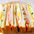 """簡単・ヘルシー、しかもウマい手作り """" 野菜サンドイッチ"""" の作り方 by アレックスさん"""