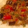 茄子味噌そぼろご飯 by NANA BOMBERさん