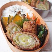 【お弁当のおかず】豚肉のキャベツ&チーズロール揚げ