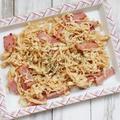 ご飯のすすむ簡単おかずレシピ! *ベーコンと切干大根のマヨ炒め*