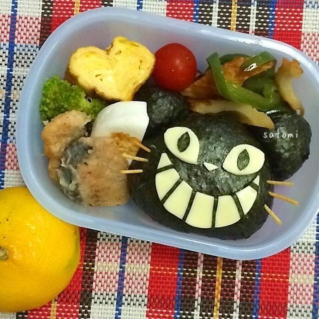 幼稚園弁当☆次女よ…ハロウィンをわかってくれ! キャラ弁(´;ω;`)